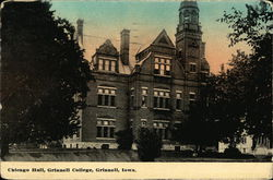 Chicago Hall at Grinnell College