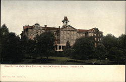 Indiana Normal School - John Sutton Hall, Main Building