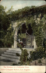 Entrance to Home at Girls Collegiate School