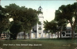 College Church and Vestry, Dartmouth College