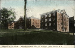 Eayerweather Row, South End, Dartmouth College