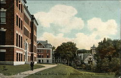 Wilder and Richardson Halls and Rollins Chapel - Dartmouth College