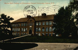 Morse Hall, College of Chemistry, Cornell University