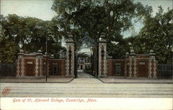 Gate of 77, Harvard College