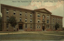 Martien Hall, Fayerweather Hall and Powell Hall, Lafayette College