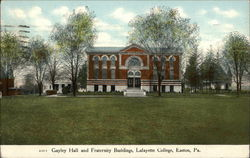 Lafayette Hotel - Gayley Hall and Fraternity Buildings
