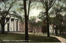 Front Campus at Brown University