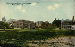 Rear Campus, Brown University