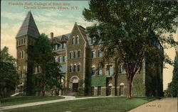 Franklin Hall, College of Electricity - Cornell University