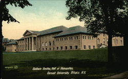 Goldwin Smiths, Hall of Humanities at Cornell University