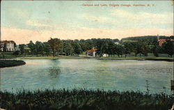 Campus and Lake at Colgate College