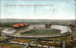 Bird's-Eye View of Stadium at Syracuse University