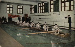 Syracuse University - Rowing Tank in Gymnasium