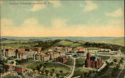 Bird's Eye View of Syracuse University