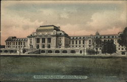 Bancroft Hall, South Front, Naval Academy
