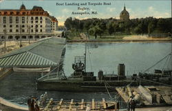 Boat Landing and Torpedo Boat