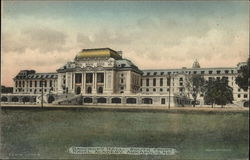 Bancroft Hall. South Front, Naval Academy