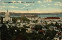 Bird's Eye View of Naval Academy