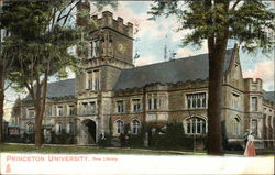 Princeton University - New Library Postcard