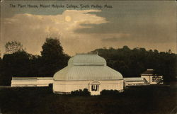 Mount Holyoke College - The Plant House