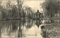 The Old Pump House and Pond at Mt Holyoke College