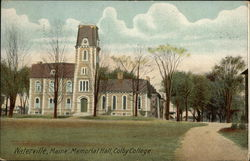 Colby College - Memorial Hall