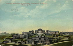 Proposed Buildings for University of Pittsburgh