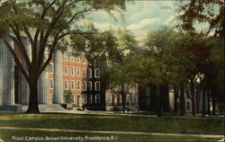 Front Campus of Brown University