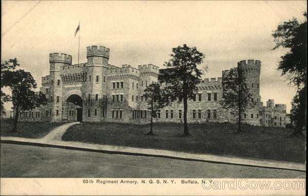65th Regiment Armory, NSNY Buffalo New York