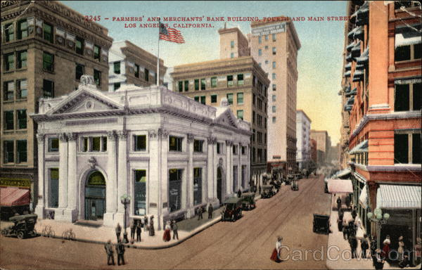 Farmers and Merchants Bank Bulding Los Angeles California