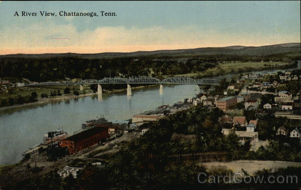 A River View Chattanooga Tennessee
