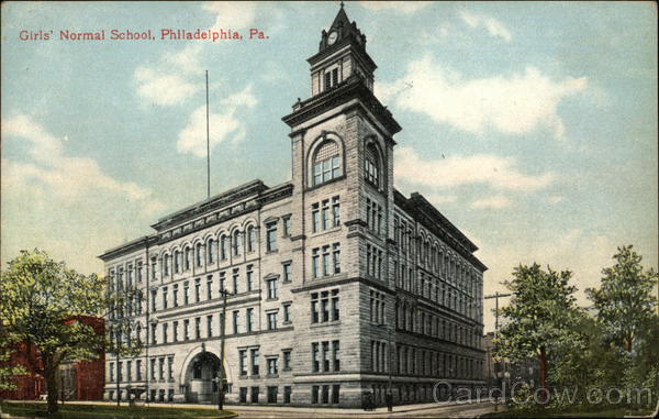Girls' Normal School Philadelphia Pennsylvania