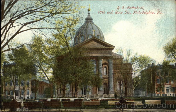 RC Cathedral - 18th and Race Streets Philadelphia Pennsylvania