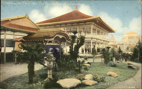 Japanese Pavilion 1915 Panama-Pacific Exposition
