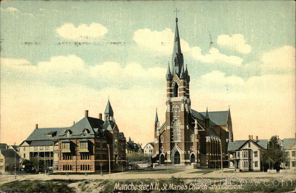 St. Marie's Church and Convent Manchester New Hampshire