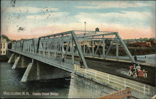 Granite Street Bridge Manchester New Hampshire