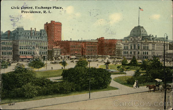 Civic Centre, Exchange Place Providence Rhode Island