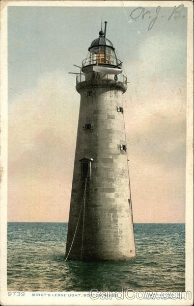 Minot's Ledge Light Boston Massachusetts