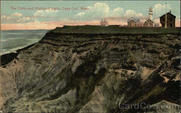 The Cliffs and Highland Light Cape Cod Massachusetts