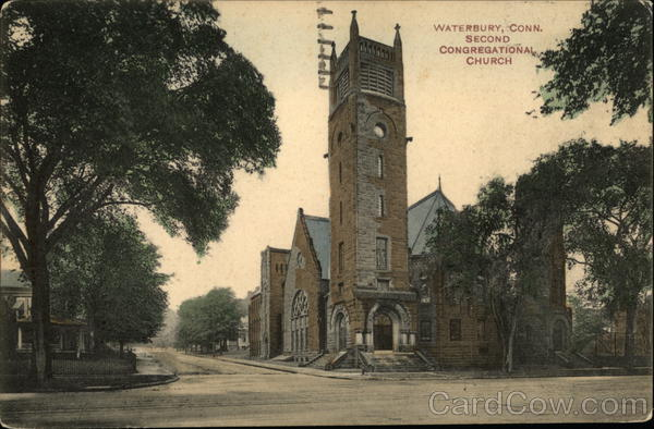 Second Congregational Church Waterbury Connecticut