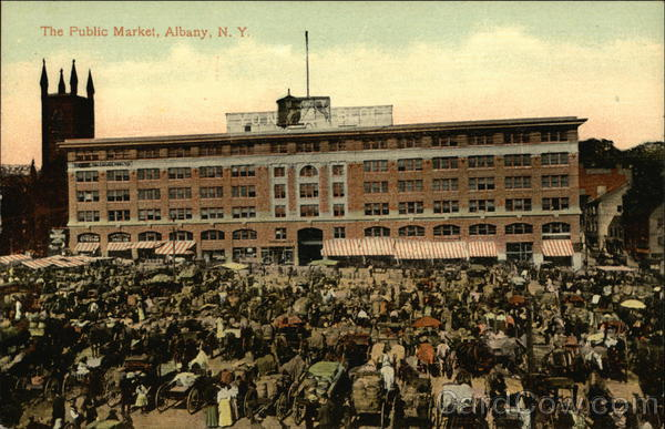 The Public Market Albany New York