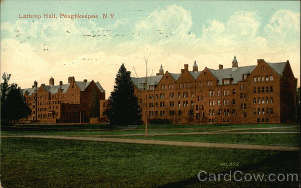 Lathrop Hall and Grounds Poughkeepsie New York