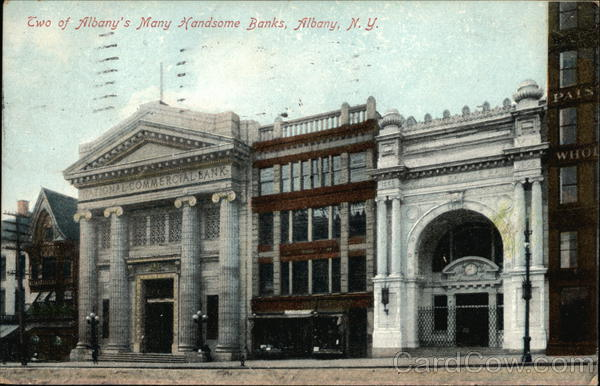 View of Two Banks Albany New York