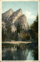 Three Brothers, Yosemite Valley