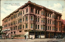 Street View of Capitol Hotel - 7th and K Streets