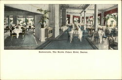 Restaurants, The Brown Palace Hotel