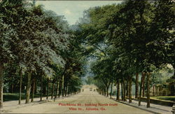 Peachtree Street, looking North from Vine Street