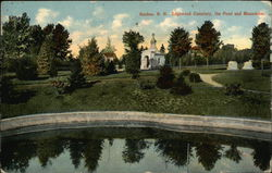 Edgewood Cemetery, the Pond and Mausoleum