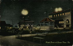 Night Scene Postcard