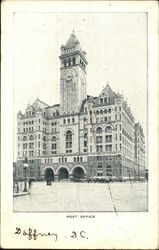 Old Post Office Pavilion Postcard